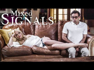[PureTaboo] MIXED SIGNALS / Kenna James, Mindi Mink.(Blonde, Hardcore, Natural Tits, Small Tits, Fingering, Teen, Pussy Licking)