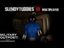 Slendytubbies 3 Multiplayer 1.27 Прохождение Карта Military Outpost Режим Соло Выживание