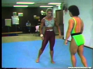 female wrestling - женская борьба