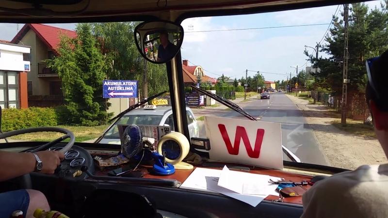 Варшава - старый автобус с 1975 года (Часть 2)