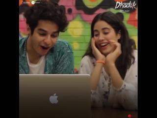 Dhadak Ishaan Janhvi Reactions