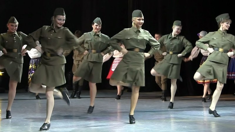 Smuglyanka War Army Dance Смуглянка Военный Танец