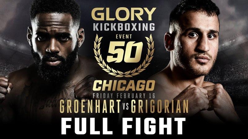 GLORY 50 Murthel Groenhart vs. Harut Grigorian