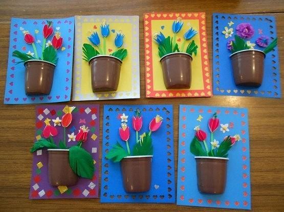 Поделки руками мамы для детского сада 208