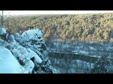 Телепроект Пешком по Новосибирской области: 17 февраля 2018 (Искитимский район)