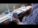 Tricoter du jacquard sur la machine LK 150 avec le chariot principal selon la méthode de Maïthé