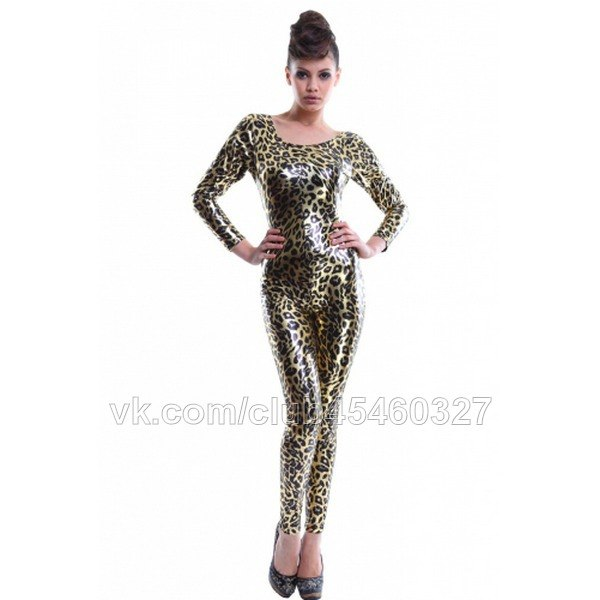 Леопардовый костюм латекс фото 279-368