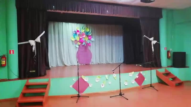 Ксюшин дебют на сцене ДК 24 11 18г