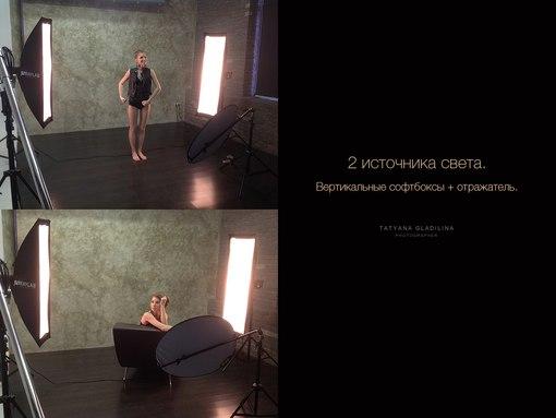 12. Работа со светом.  Студия. примеры, схемы расположения источников света.