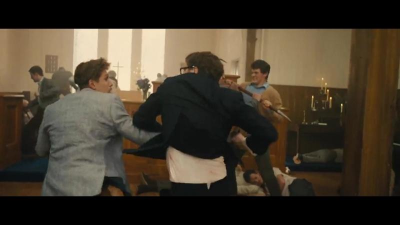 Сцена боя в церкви (Kingsman. Секретная служба)