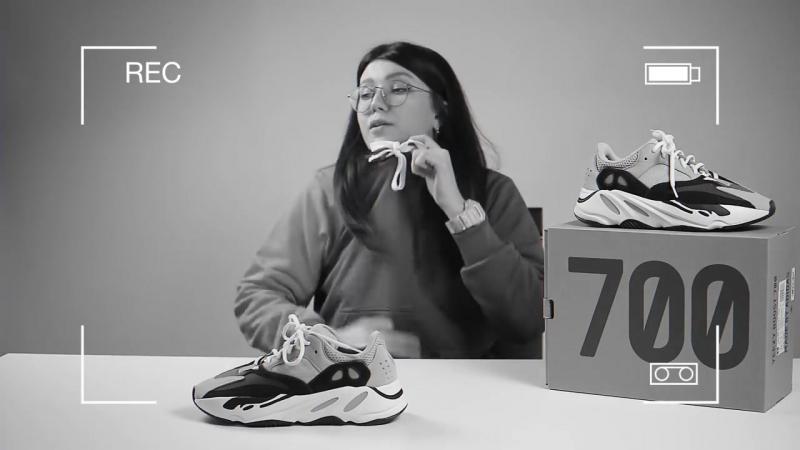 Unboxing и обзор кроссовок adidas Yeezy Boost 700 Wave Runner » Freewka.com - Смотреть онлайн в хорощем качестве
