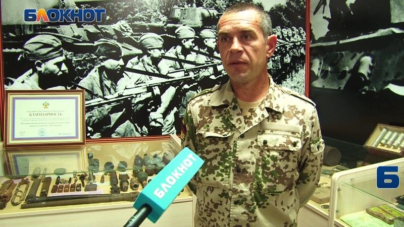 В ст Неберджаевской найдены остатки самолета времен ВОВ