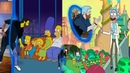 Попал в мультики Симпсоны , Рик и Морти , Время Приключений