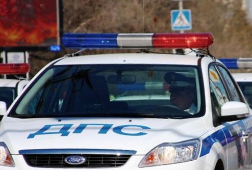 Под Таганрогом сотрудники ГИБДД задержали водителя, скрывшегося с места аварии