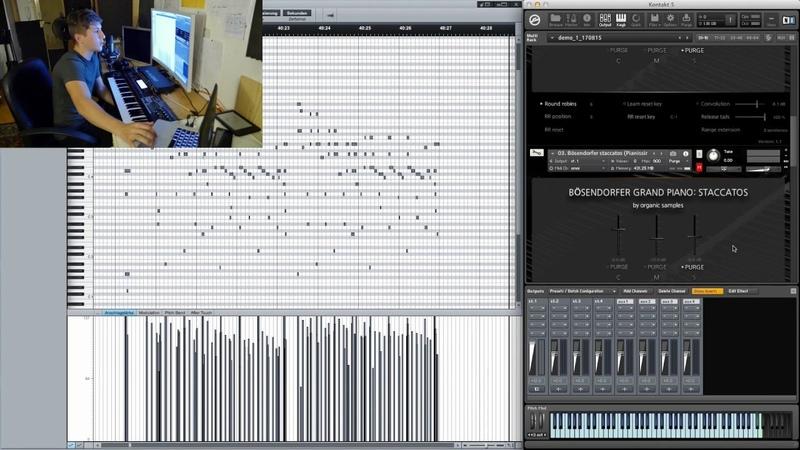 Organic Samples |Bösendorfer Grand Piano: Staccatos - Presentation
