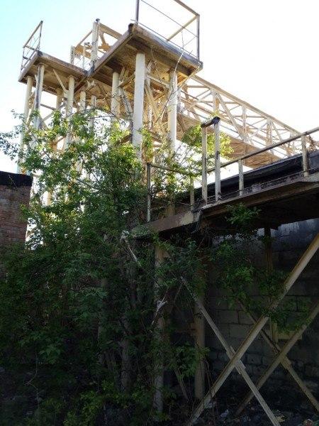 желтый мост в Таганроге