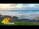 4K Hawaii Ocean Waves Crashing on Beach Relax Video Oahu Beaches Episode 4