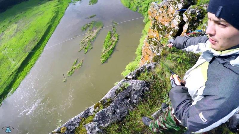 Прыжки с веревкой скала КА-2