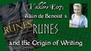 Volklore E07 - Runes The Origins of Writing