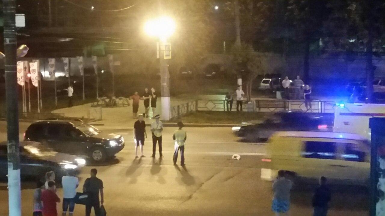 НаКомсомольской иностранная машина сбила 81-летнюю пенсионерку