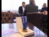 ТВ: чемпион Олимпийских игр в СОЧИ-2014 по биатлону Антон Шипулин вернулся в Екатеринбург
