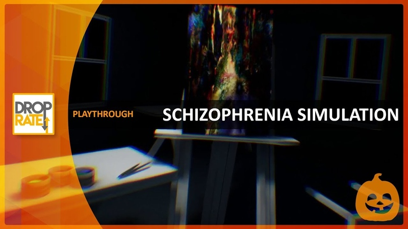 'Schizophrenia Simulation' (Itch.io) [Full Playthrough]