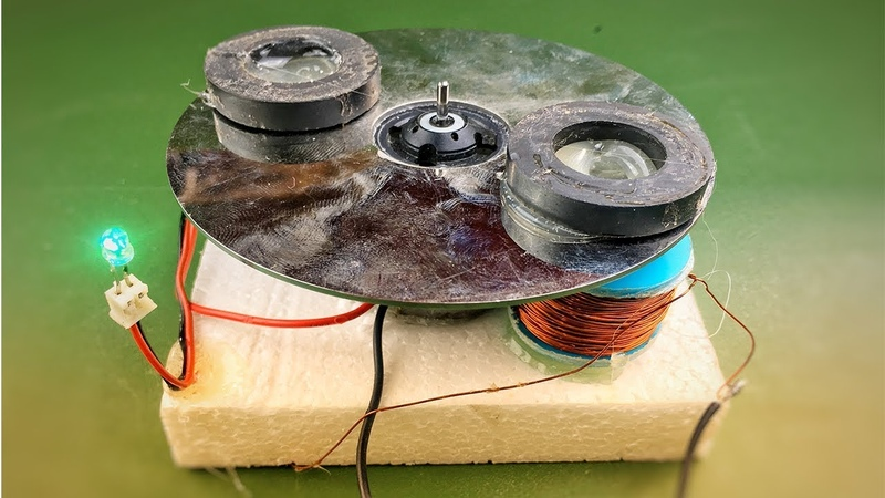 Homemade Easy Free Energy Magnet Electric Using DC Motor 2018 At Home - Science Experiment Project