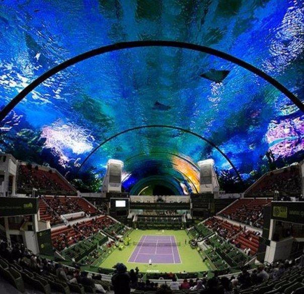 Это будет одна из самых крутых вещей в мире! Подводный стадион в Дубае.