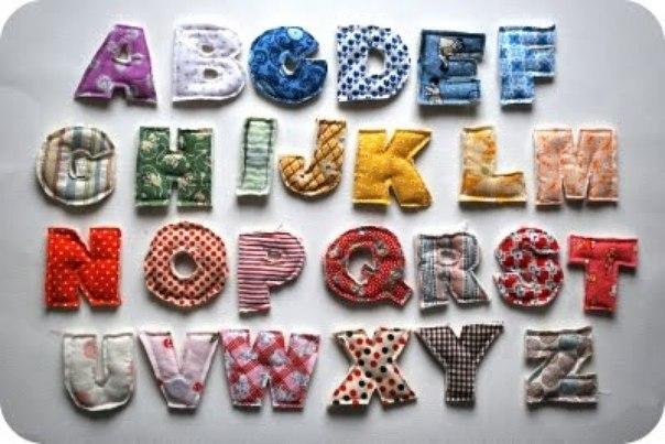 Подушки-буквы своими руками для начинающих фото