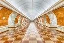 «Парк Победы» - самая глубокая станция столичной подземки, 84 метра под землей.