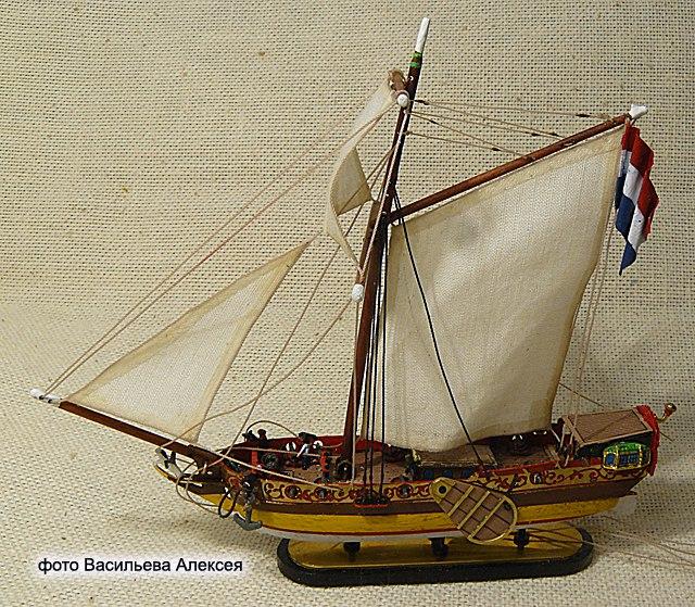 GOLDEN YACHT корабль в бутылке. Масштаб 1:300 Stq-WVx5ZPc