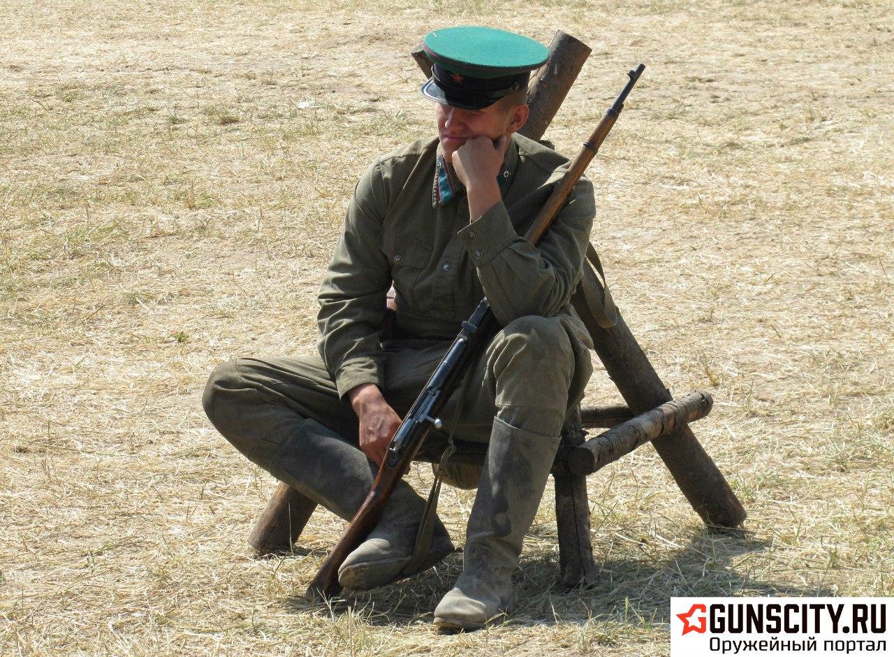 Жаркий июль 2014-го!  Военный фестиваль «Поле Боя»!