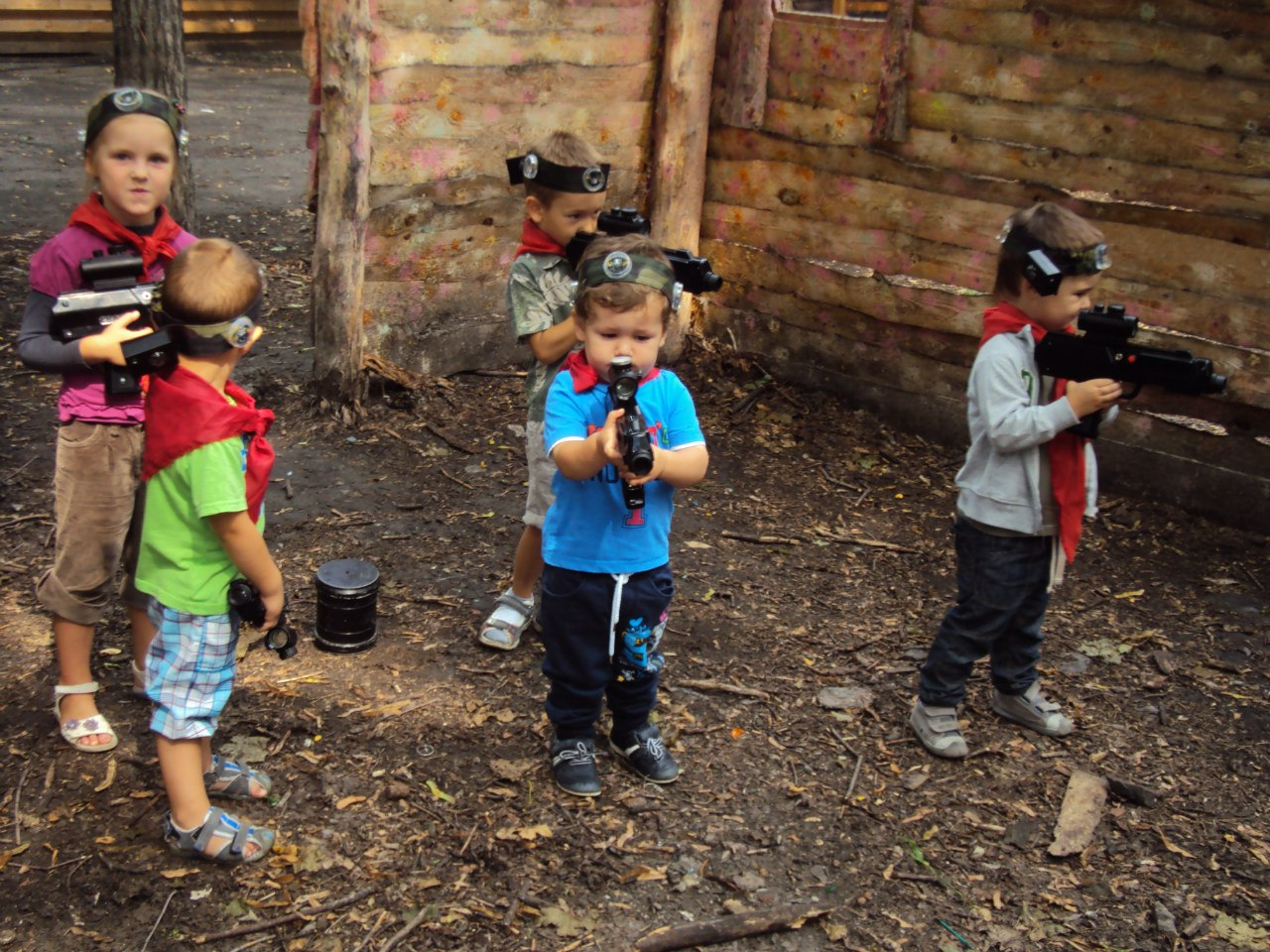 лазертаг фото дети