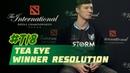 Tea Eye Winner Resolut1on отвечает на вопросы о Dota 2
