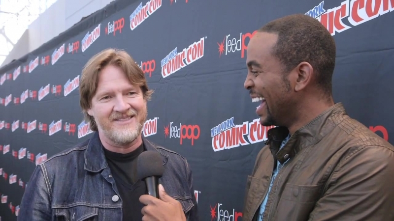 Albert Lawrence: The Gotham Cast Gets Quizzed MASSIVE TV MINUTE 13 (октябрь 2014)