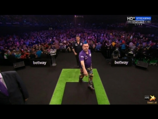 Peter Wright vs Gary Anderson (2016 Premier League Darts / Week 13)