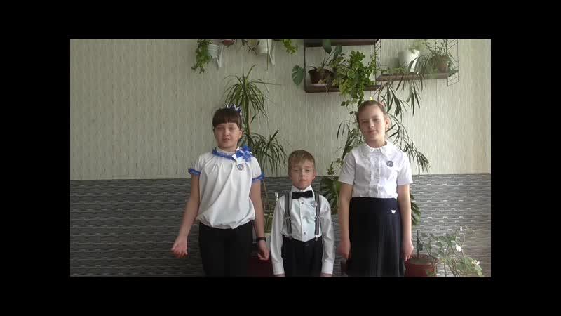 С днём рождения, музей! - поздравление учащихся СОШ № 8, г. Краснодон