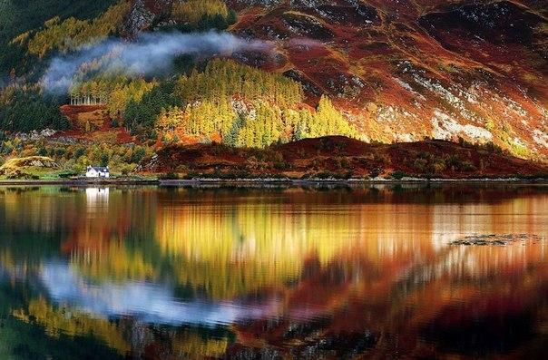 Осень на Северо-Шотландском нагорье, Великобритания