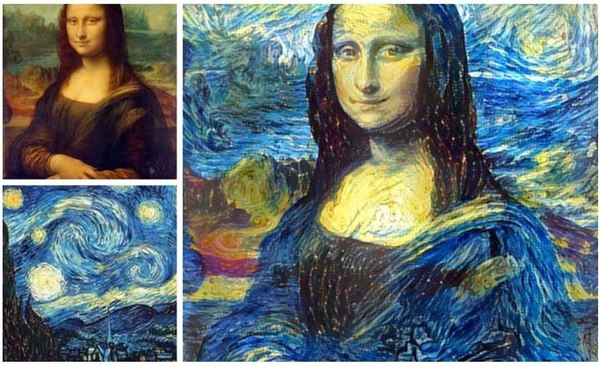 Удивительные фотографии, совмещенные при помощи искусственных нейронных сетей Фотографии выполнены в технике под названием Inceptionism, где два разных изображения совмещаются и обрабатываются