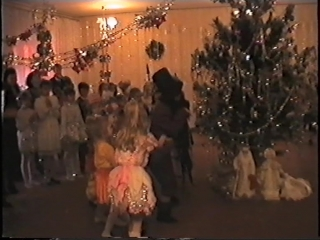 Новый год 1996 год Краснодонская городская гимназия