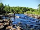 Рыбалка, отдых летом в Карелии.