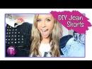 4 DIY Jean Shorts - Kalynxo13
