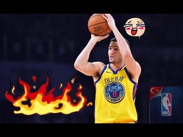 Klay Thompson ALEV ALIYOR!🔥🔥🔥🔥🔥🔥 ON FİRE NBA TURKEY HD