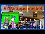 At the Supermarket Listen, Speak, Repeat Easy English Conversation Practice ESL.