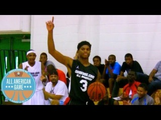 MJ Walker wins the 2013 Dunk Dog Middle School All American Dunk Contest - Class...