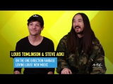 """25.01.17 - Louis Tomlinsons Fans Have """"Adopted"""" Steve Aoki!"""