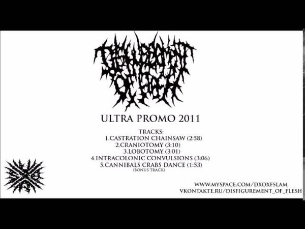 Disfigurement of Flesh Ultra Promo 2011 FULL DEMO
