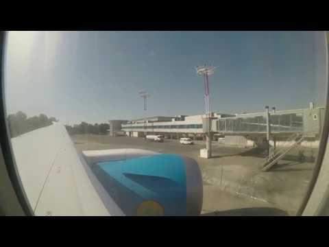 Uzbekistan Airways Boeing 787 from Moscow to Tashkent (June 2018) SUPER QUIET
