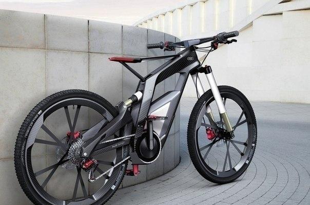 А это велосипед от компании audi, фото приколы. Фото приколы