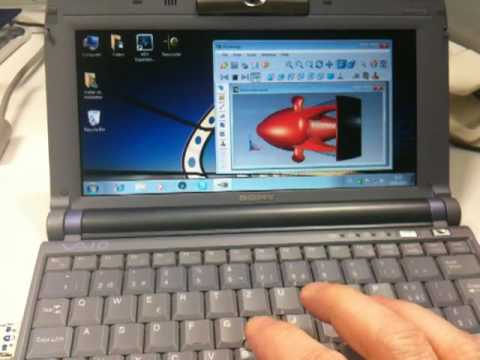 How to run Windows7 on a 10 Year old SubNotebook with 192MB of RAM